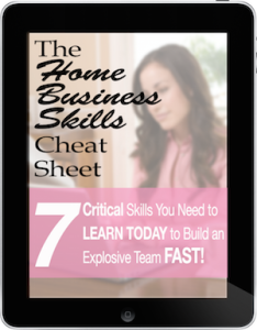 Home Business Skills Cheat Sheet