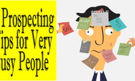 5 Prospecting Tips for Busy People