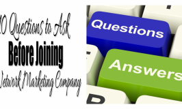 What to Ask Before Joining an MLM Company?