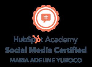 adele-yuboco-social-media-certification-hubspot