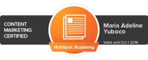 adele-yuboco-hubspot-certification-content-marketing